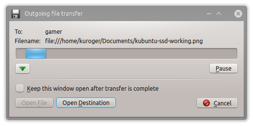 File transfer without any prompts