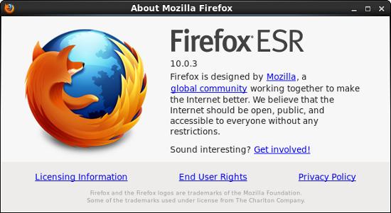 Firefox ESR release