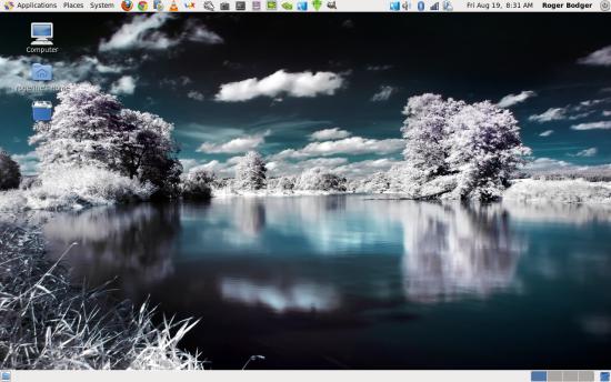 Gnome 2 desktop