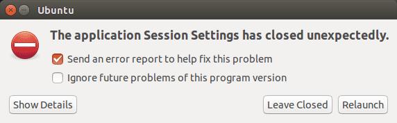 LXQT crashed