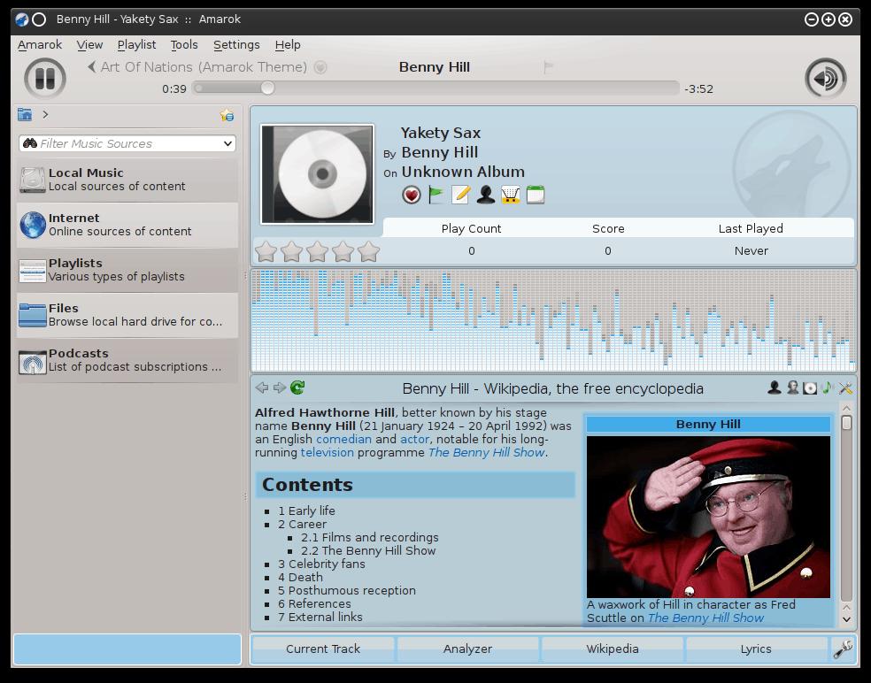 Fedora MP3