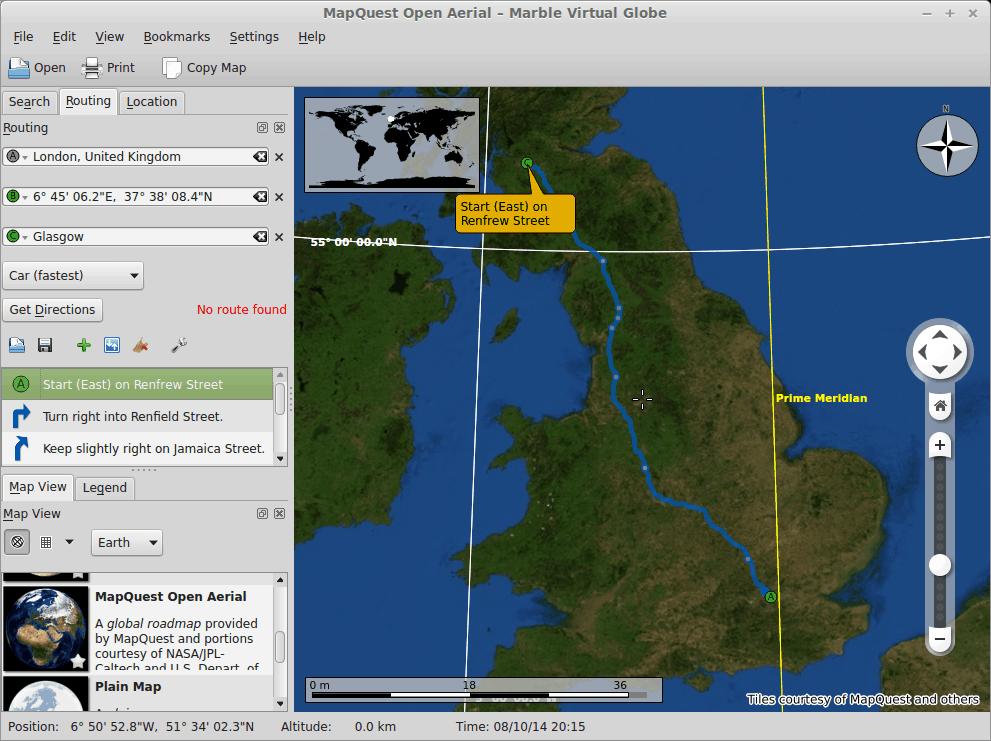 Navigation, new maps