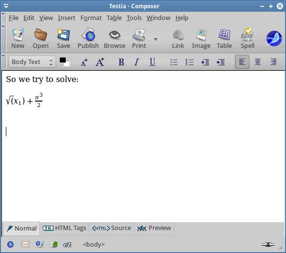 Math, output