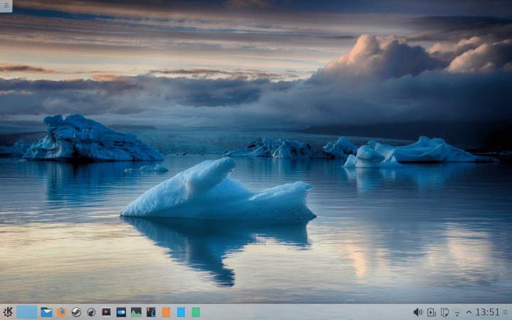 Final desktop looks