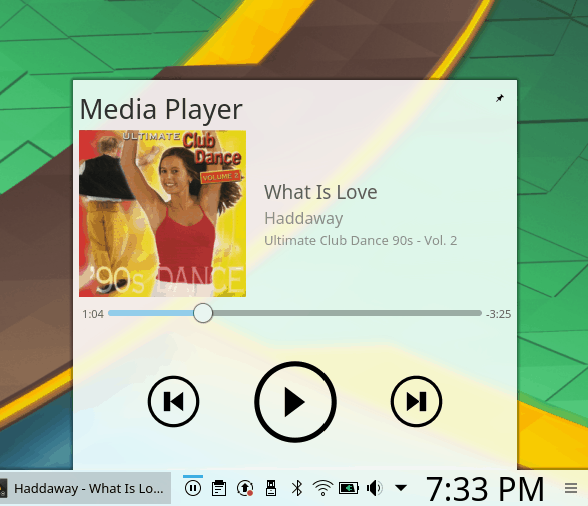 Media player context menu, more options needed