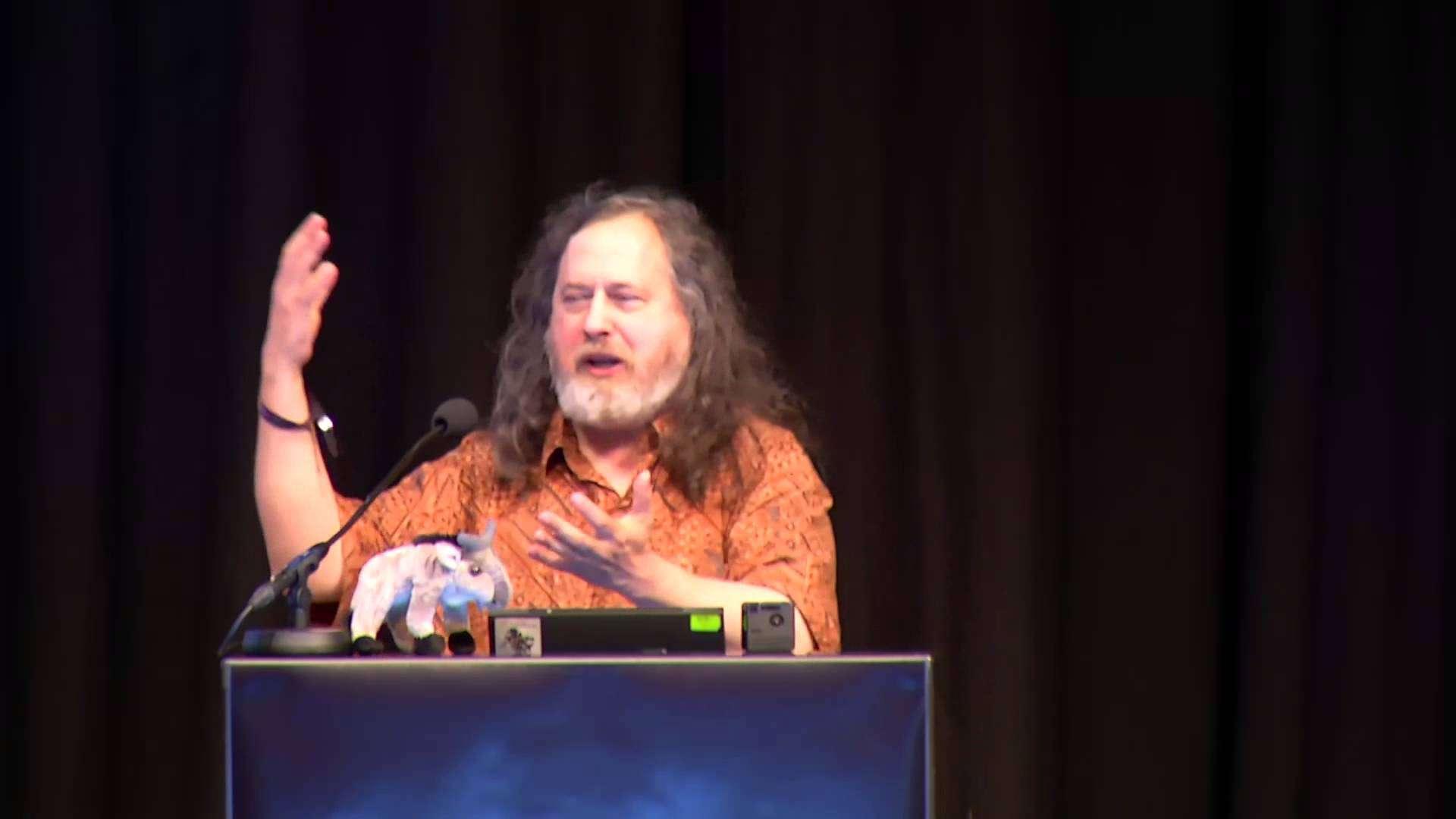 Stallman's speech for Freedom